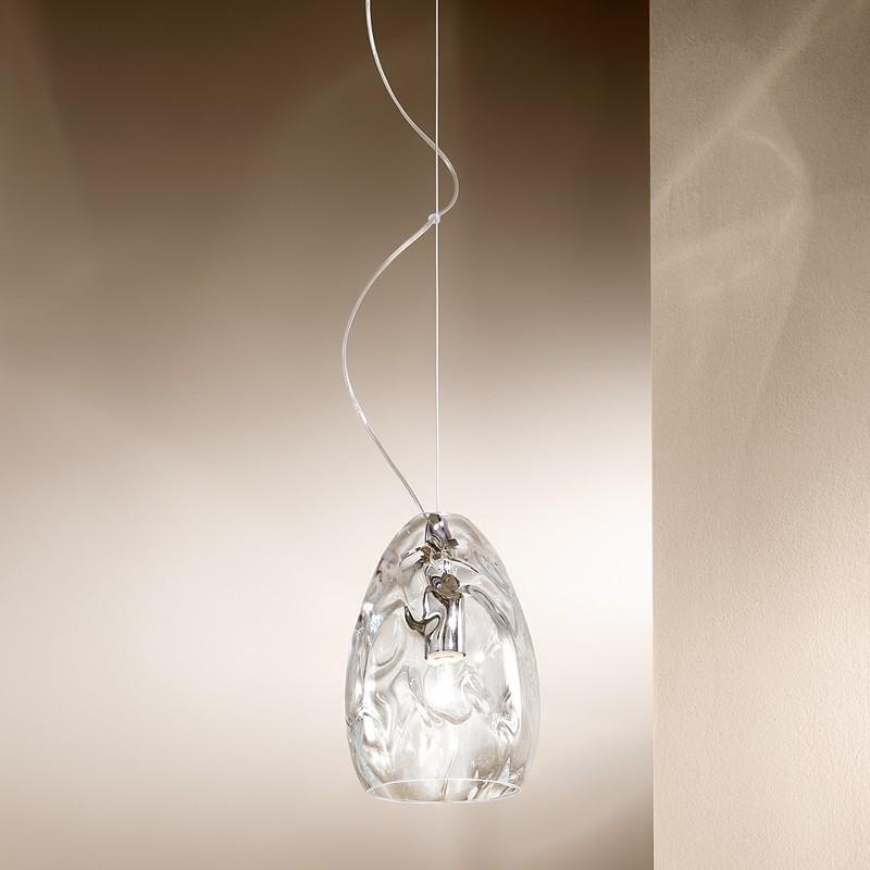 Clivia r sidence l gante lampe suspension d 16 souffl for Suspension en verre design