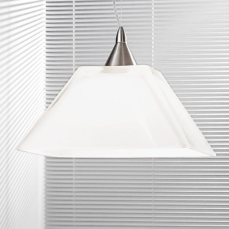 KEOPE Colorata Lampada a Sospensione dal Design lineare d. 14