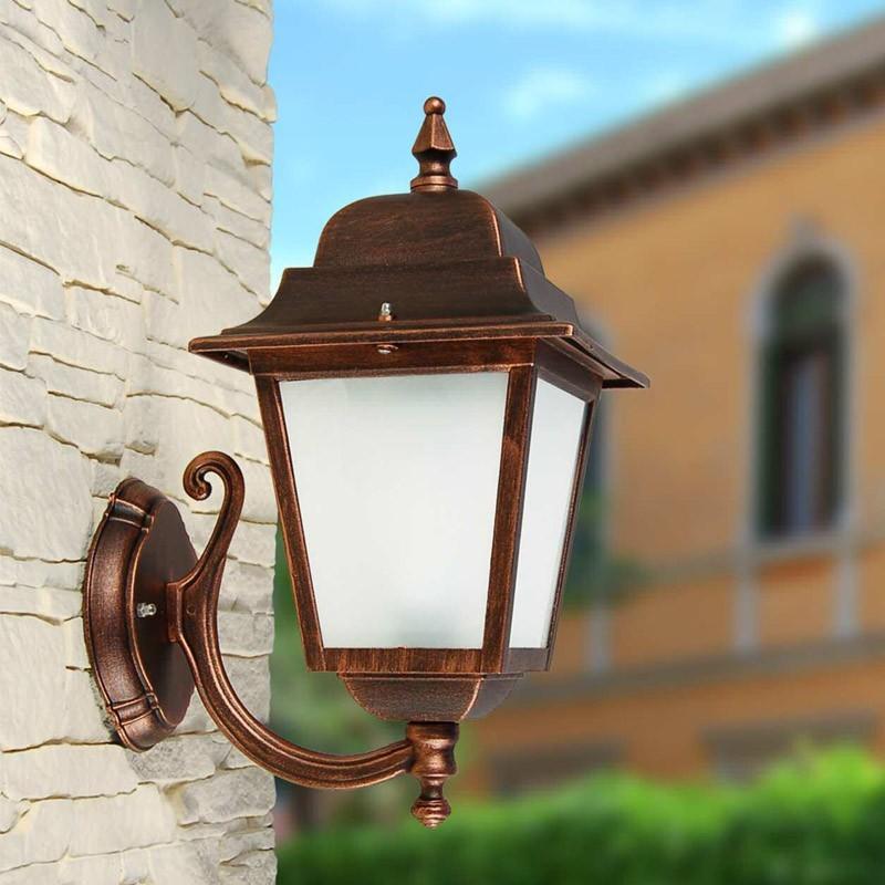 ATHENA Lantern Wall Square Classic Lighting Garden
