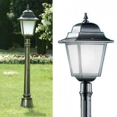 ATHENA Lampioncino Lampada Quadrata Classica Illuminazione Esterno Giardino