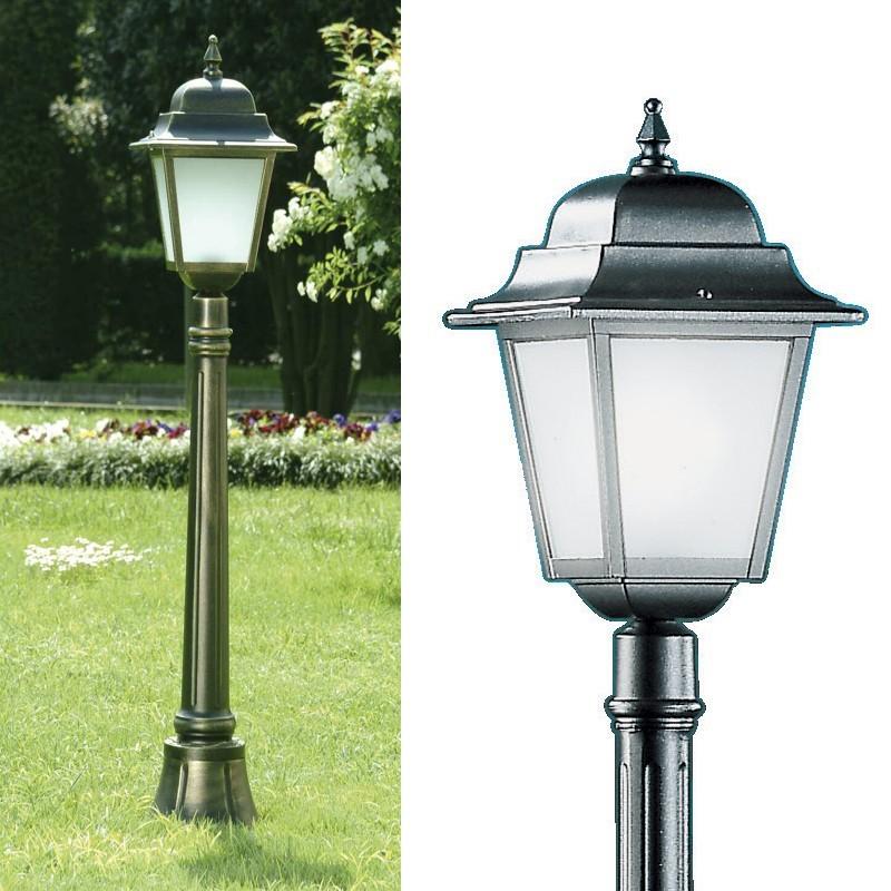 Athena media lampioncino palo lampione illuminazione for Lampioni per esterno