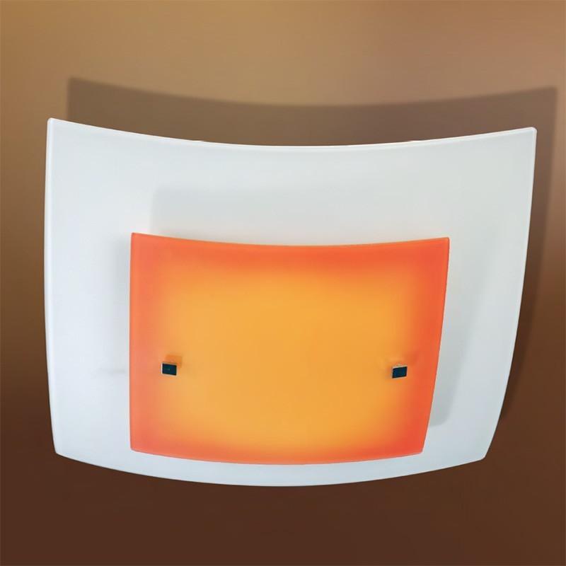 Plafoniera quadra lampada da soffitto illuminazione cameretta bagno for Lampada bagno soffitto