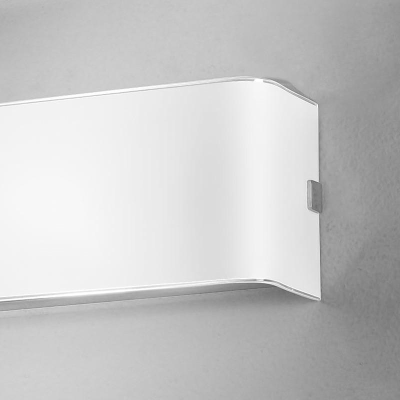 LINEAR WHITE Applique Parete in Vetro L.50 ART. 6364.50 Antealuce