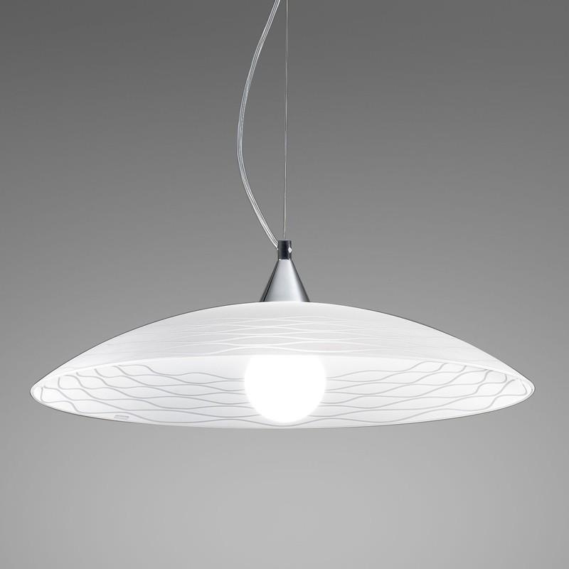 Lampada Sospensione Vetro Moderno | Kloe di Antea Luce Illuminazione