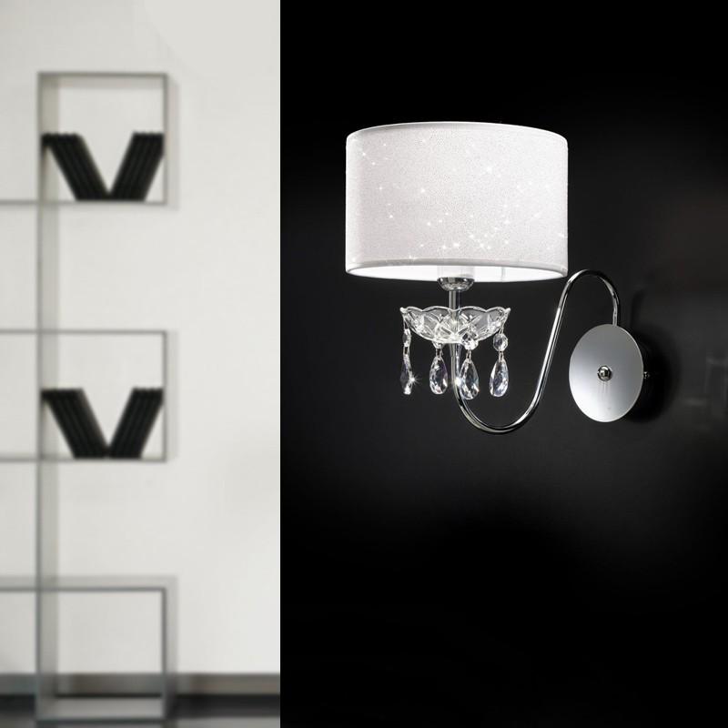 HELEN Applique Design Moderno con Cristalli