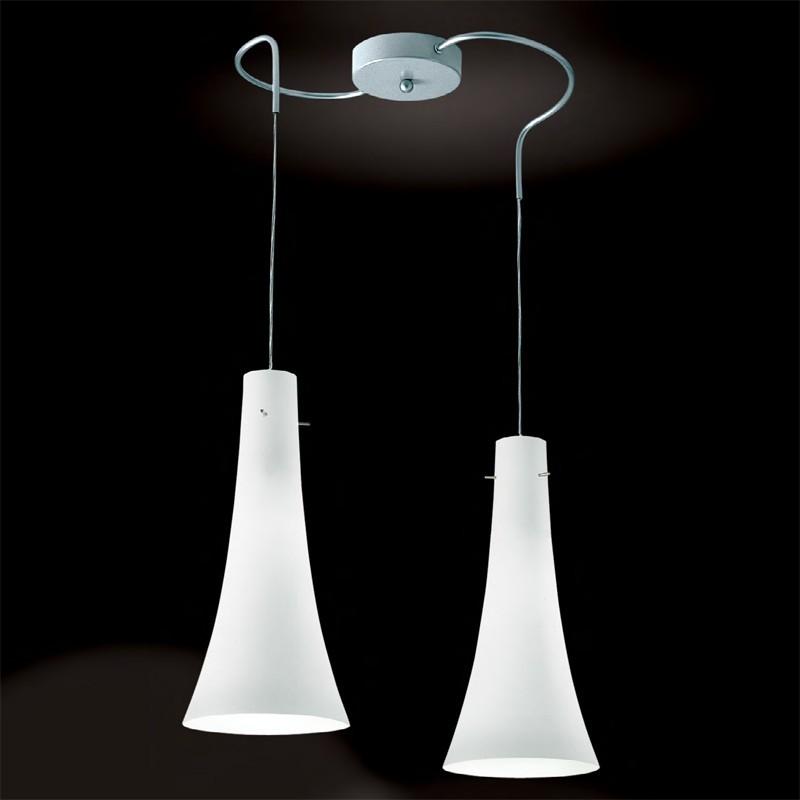 Kolors lampada a sospensione colorata 6 luci lampadina a - Luci sospensione design ...