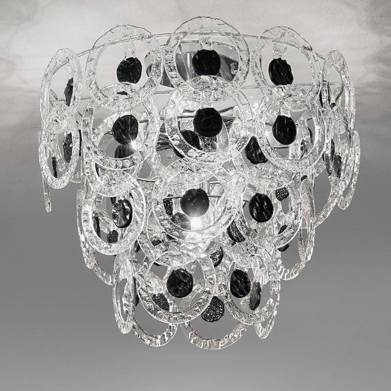 Lampadario Vetro Murano Light : Lampada lampadario moderno pendenti mary rose di antea luce