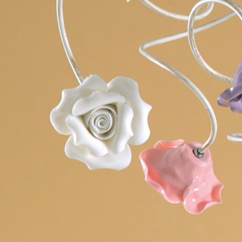 Plafonniers rustiques ceramique fer vente on ligne italianlightstore - Lumiere au plafond ...