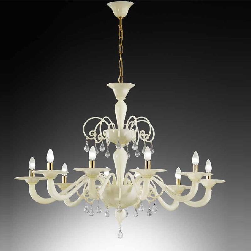 CA' EMERALD Chandelier Murano Glass Contemporary Design