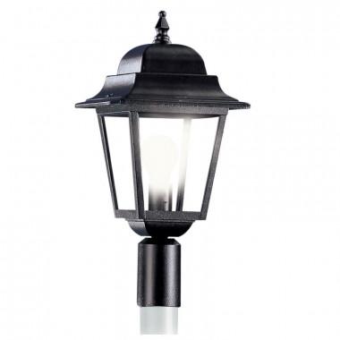 ATHENA Lanterna con Attacco per Palo Esistente Illuminazione Esterno Giardino