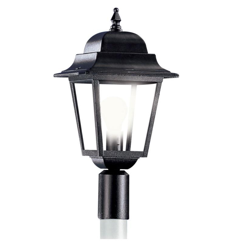 athena media lampada con attacco d 4 5 o d 6 cm per pali