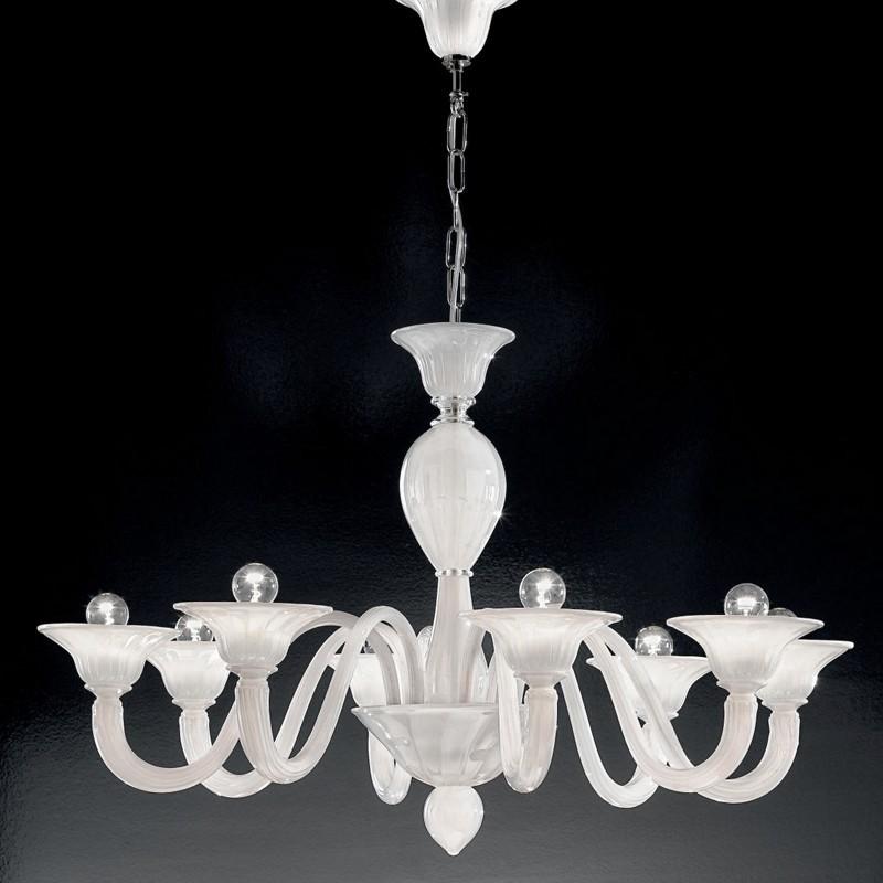CA' NOVA Chandelier Murano Glass Contemporary Design