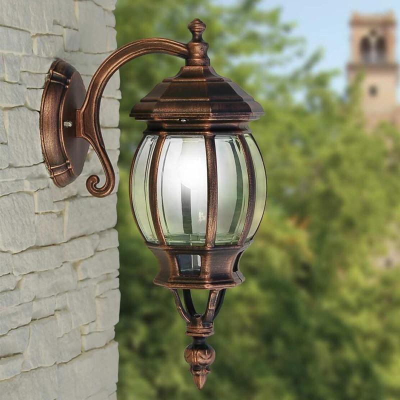 Enea lanterna d esterno giardino classica tradizionale - Applique da parete classiche ...