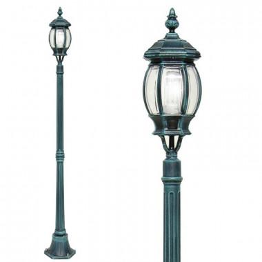 ENEA Palo Lampioncino Lampada Classica Illuminazione Esterno Giardino