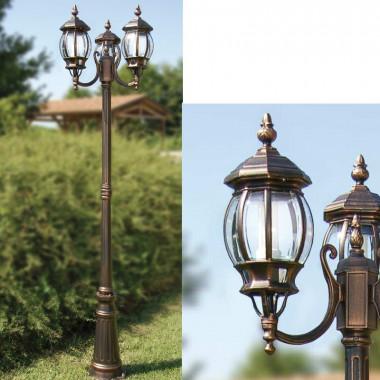 ENEA Palo Lampione Esterno Giardino Illuminazione Classica