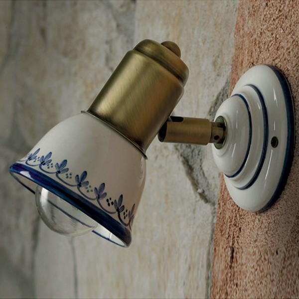 KILA Spot Orientabile Parete Soffitto Ceramica Decorata
