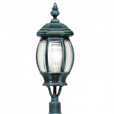 ENEA Lanterna con Attacco per Palo Esistente Illuminazione Esterno Giardino