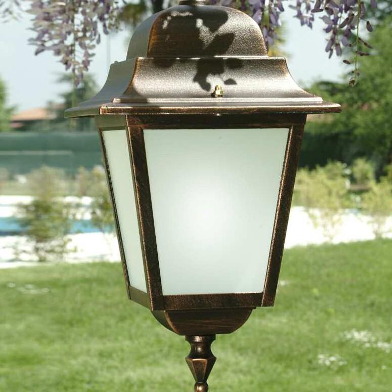 ATHENA GRANDE Lampada a Sospensione Quadrata  Illumunazione Esterno Giardino