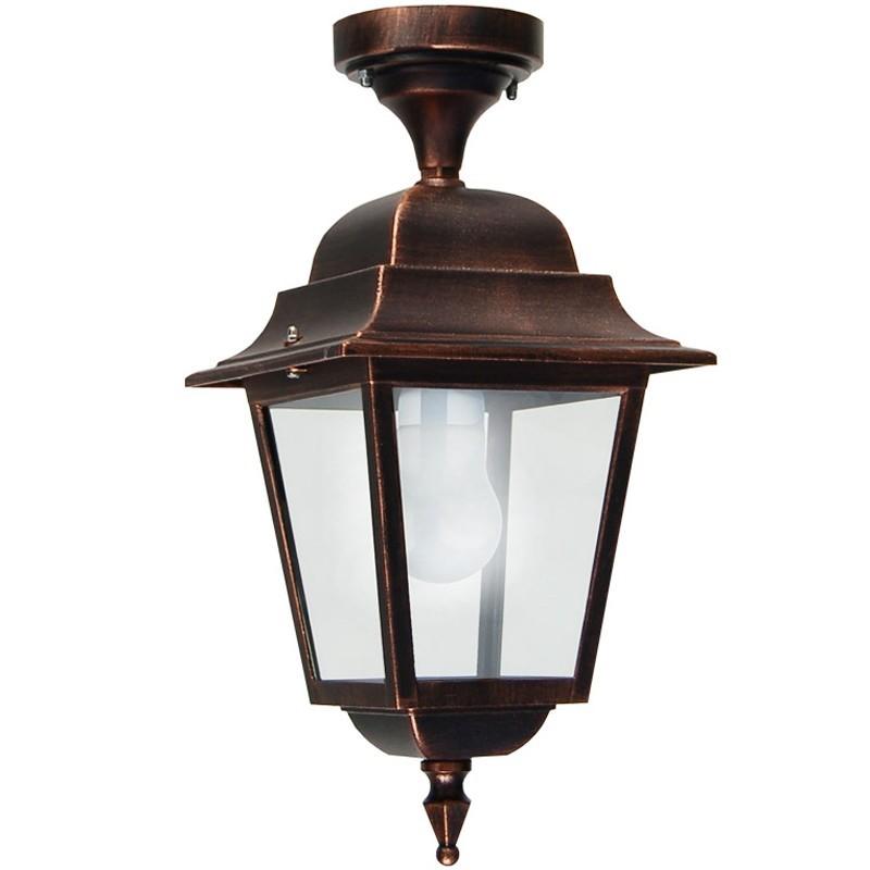 ATHENA GRANDE Lampada a Soffitto Plafoniera Quadrata Illuminazione Esterno