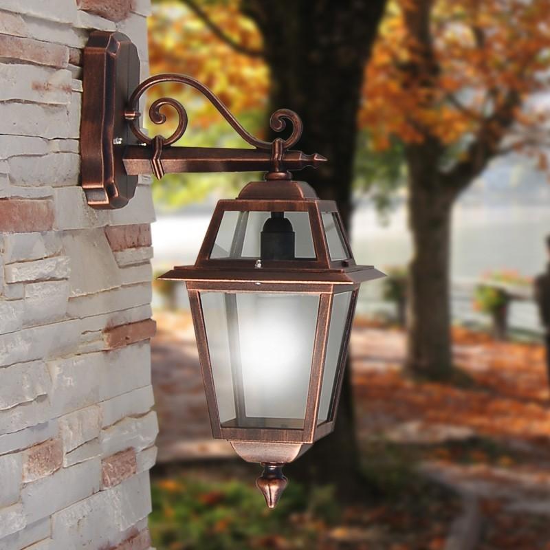ARTEMIDE Lampada Lanterna a Parete Classica Illuminazione Esterno Giardino