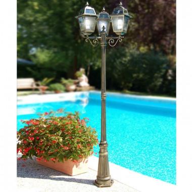 ARTEMIS, Pole Lamp Lantern, Classic Lighting Outdoor Garden