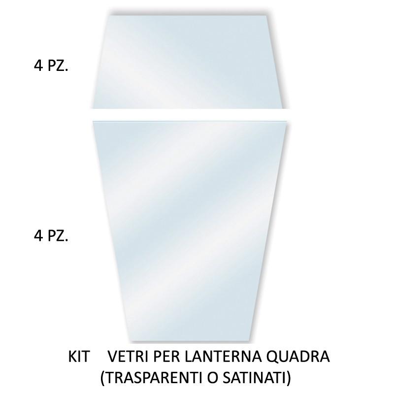 ARTEMIDE Kit vetri di ricambio trasparenti o satinati