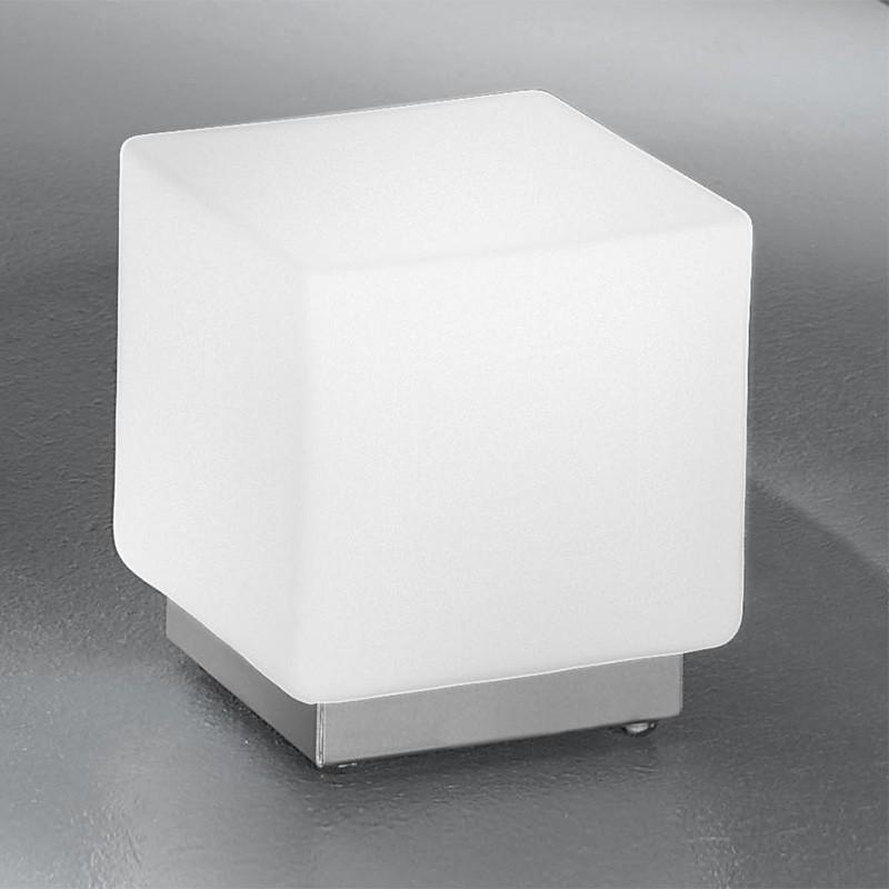 KREA KUBO Lampada Cubetto in Vetro Soffiato L.11 dal Design Moderno