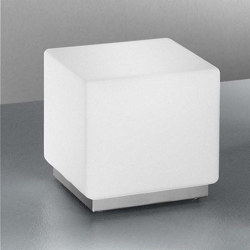 KREA KUBO Lampada Cubo in Vetro Soffiato L.16 dal Design Moderno