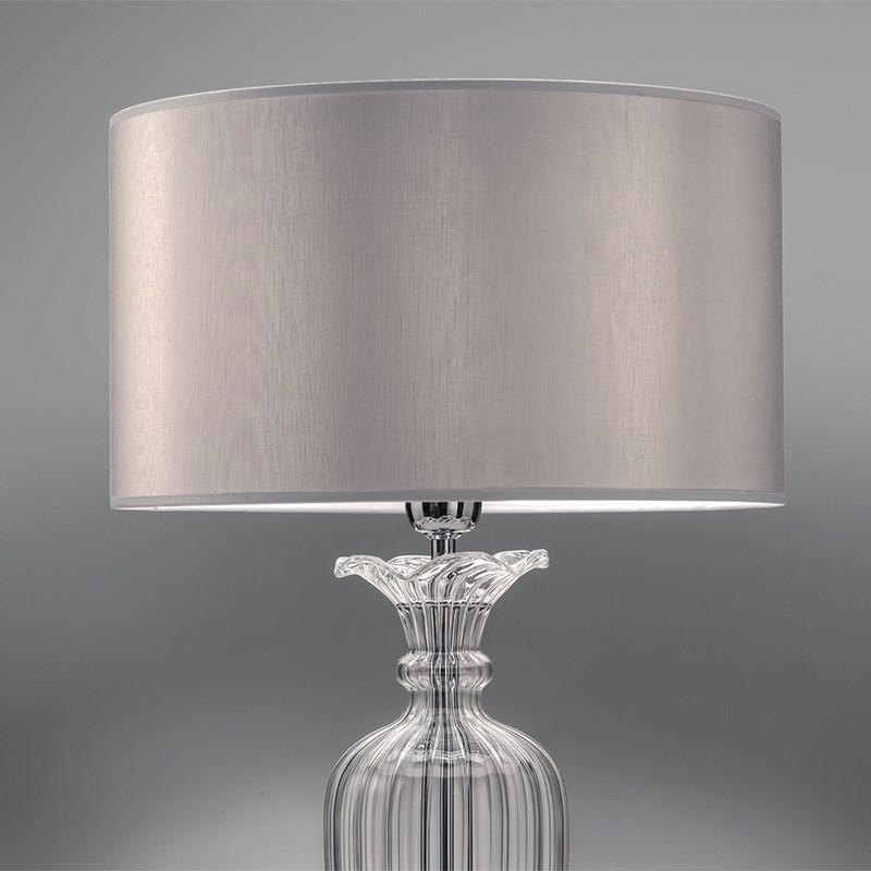 Clivia Elegante Lampada Da Tavolo D 35 Cristallo Soffiato Antea Luce