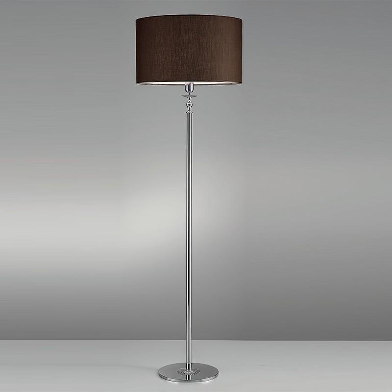 6699 ROYAL Lampada da Terra Design Moderno Paralume marrone Antea Luce