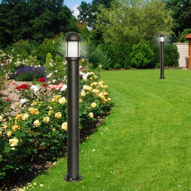 Midos post lanterne moderne en aluminium d 39 clairage de - Lanterne moderne ...