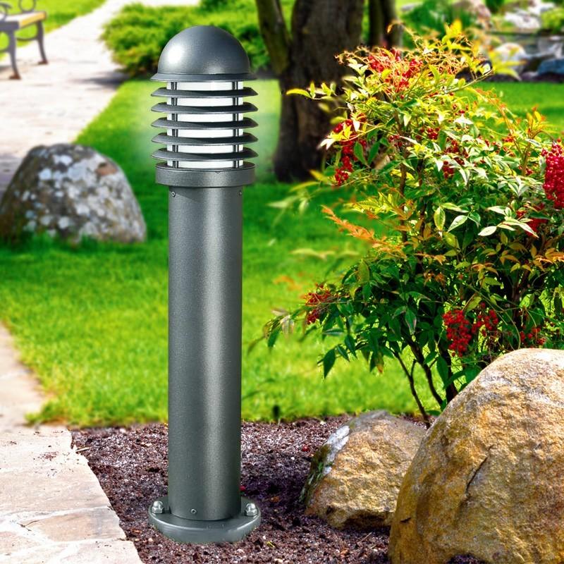 Kyle paletto lampioncino in alluminio illuminazione for Illuminazione da giardino a led