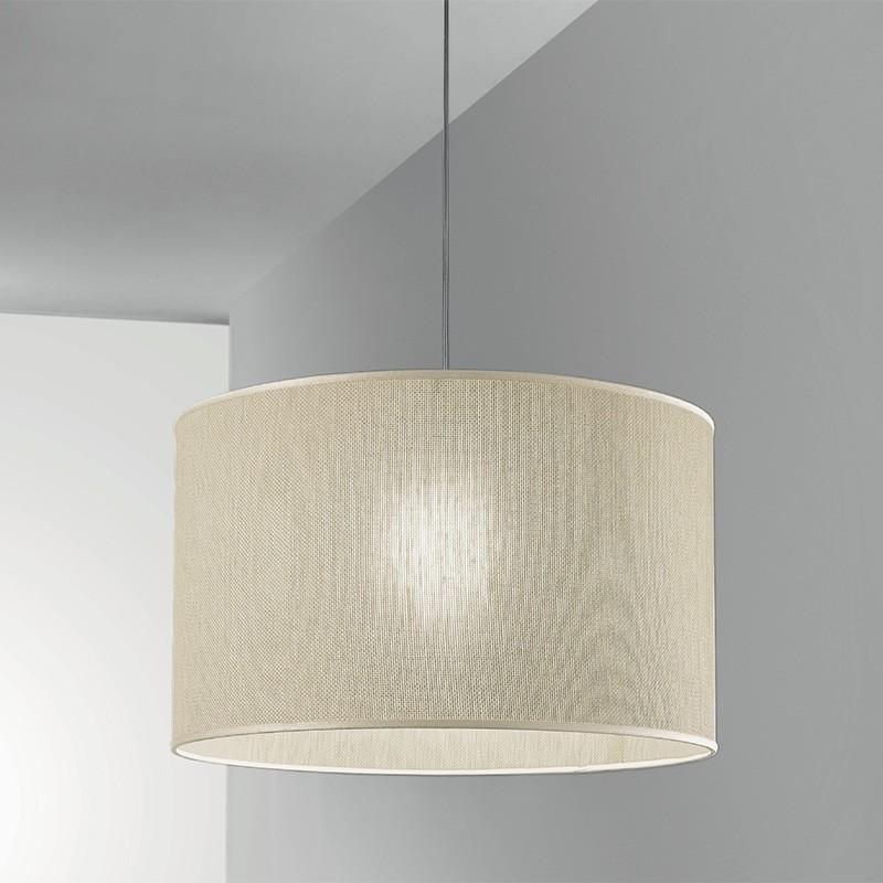 TALIA Lampadario con Paralume in Juta Design Moderno Antea Luce