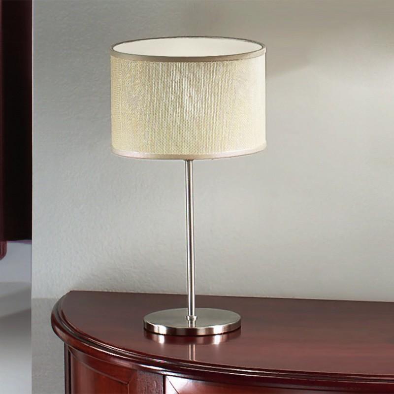 Lampade Da Tavolo Ikea Modello Tertial : Talia lampada da comodino paralume juta dsign moderno