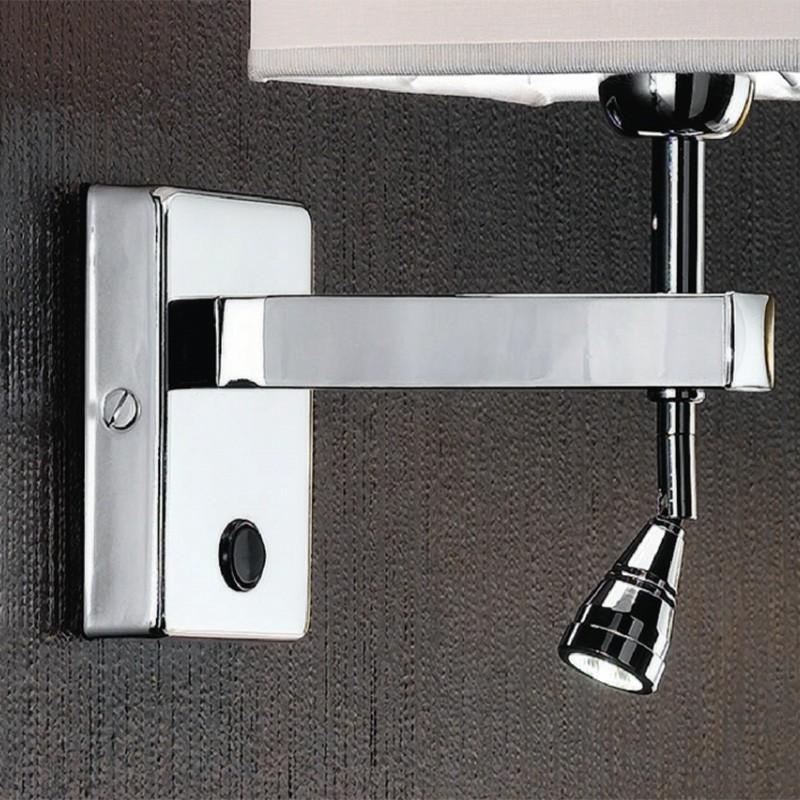 6475 smart lampada da parete applique moderno con paralume - Applique led per camera da letto ...