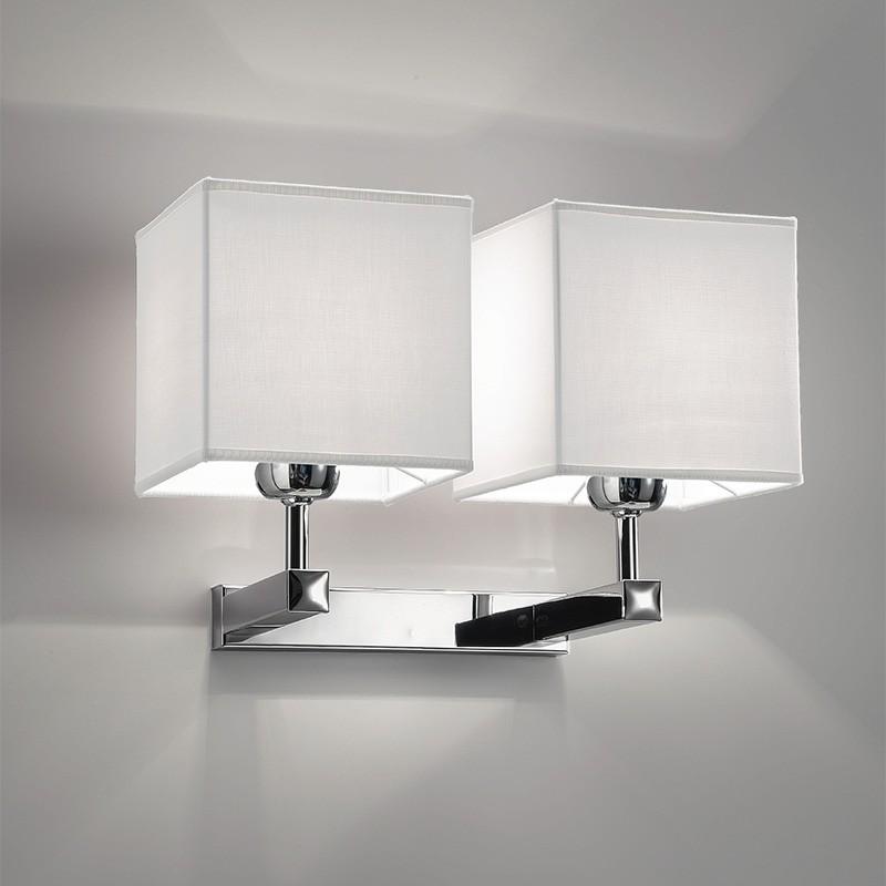 6475 smart lampada da parete applique moderno con paralume for Applique moderne