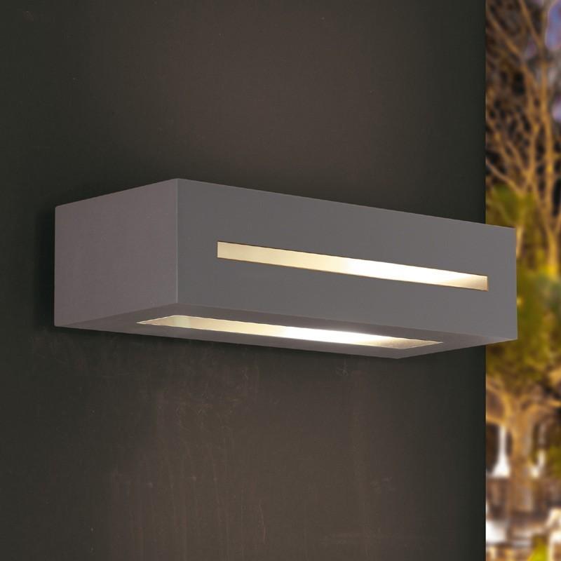 Faretto tecnico lampada plafoniera esterno design moderno for Faretti per esterno