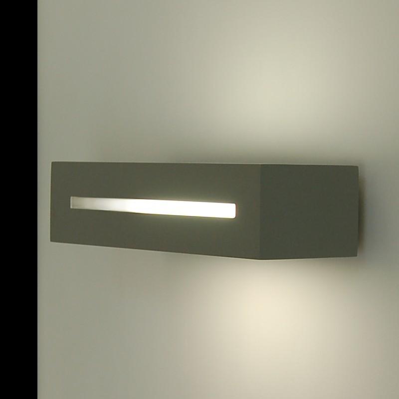 brique de projecteur de la conception moderne de l 39 up down bi directionnel couleur gris. Black Bedroom Furniture Sets. Home Design Ideas