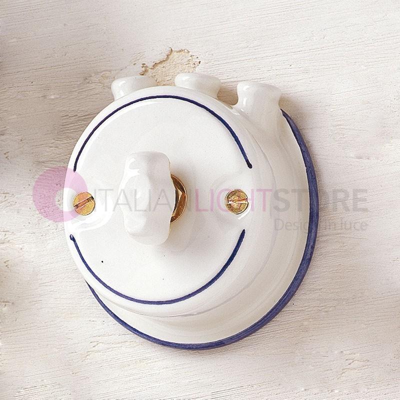 INTERRUTTORE Deviatore a Farfalla in Ceramica con Pipe