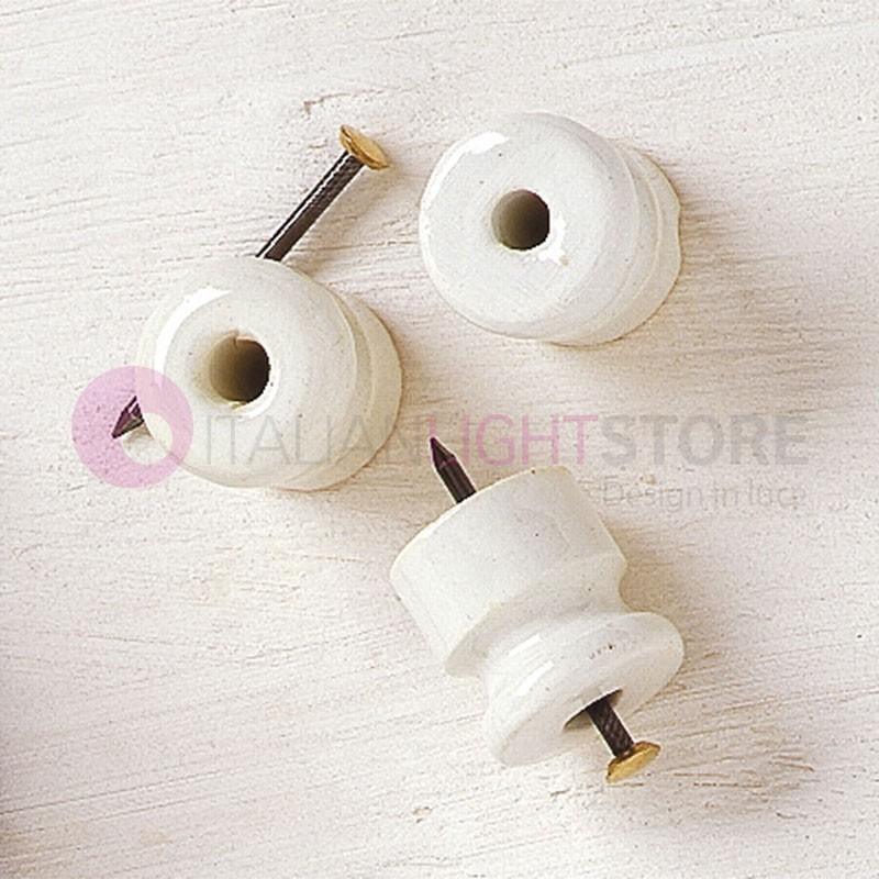 ISOLATORE Ceramica Passante per Cavi Intrecciati