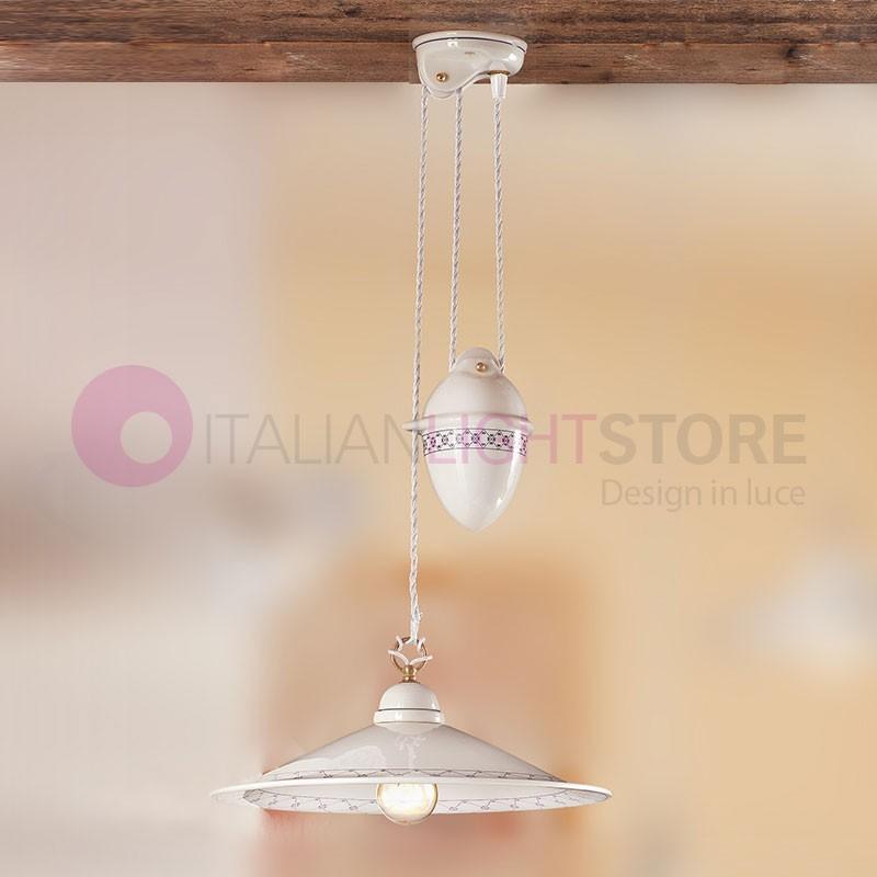 suspension cuisine rustique c ramique italienne ceramiche borso. Black Bedroom Furniture Sets. Home Design Ideas