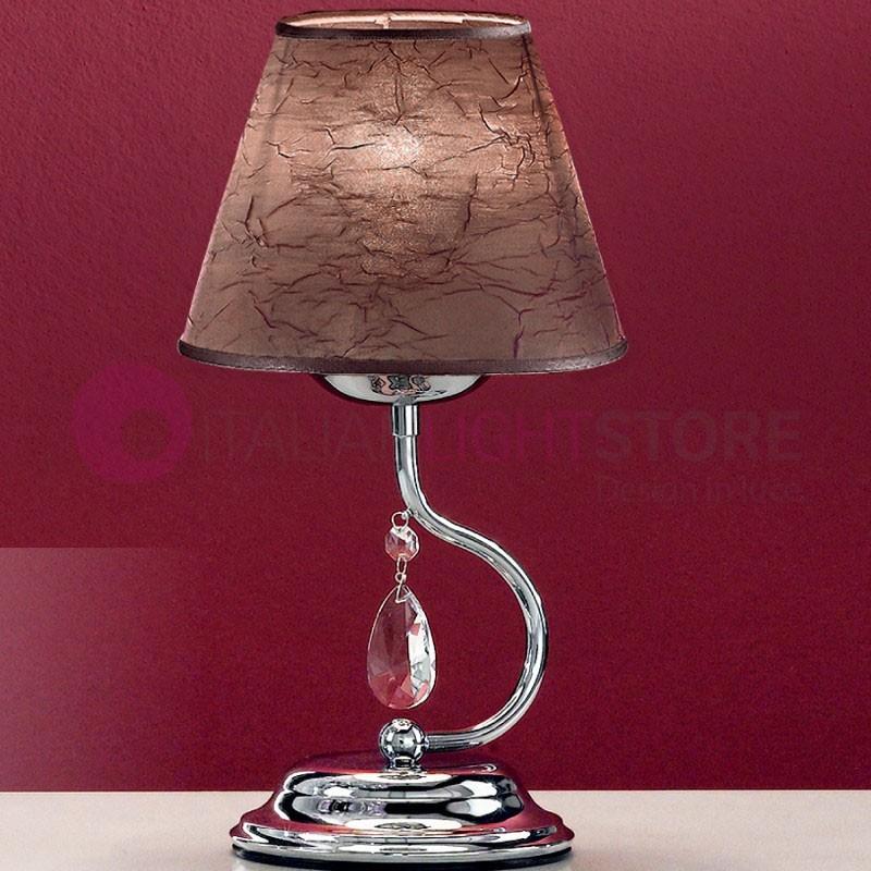 Lia lampe de table lampe de chevet moderne lampe avec - Abat jour design moderne ...