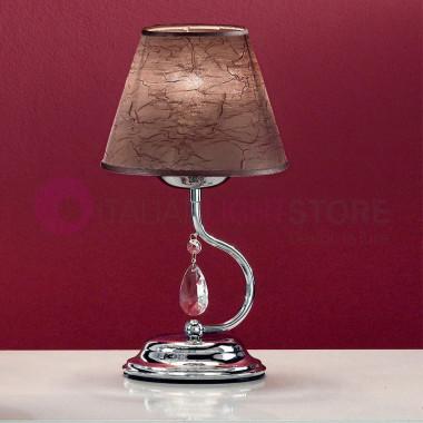 LIA Lampada da Tavolo con Paralume e Pendagli Design Moderno