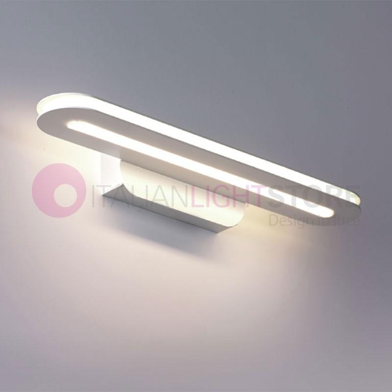 TRATTO Lampada a Led da Parete L.34 Design Moderno