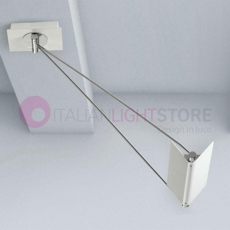 SLING Lampada a Sospensione a Led con Struttura Movibile Design Moderno