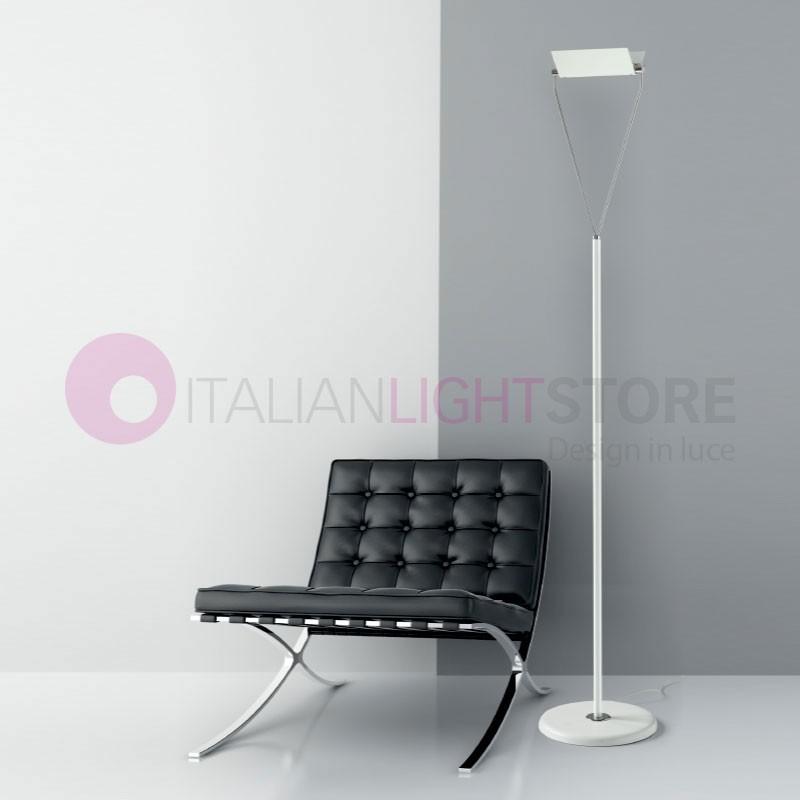 SLING Lampada da Terra a Led con Struttura Movibile Design Moderno