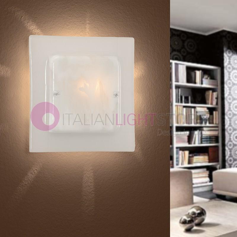 Orlando Applique Moderna Vetro Murano 30x30
