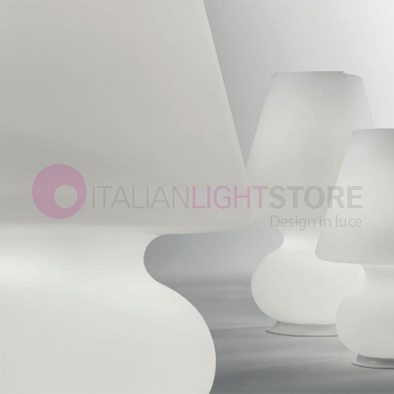 BIANCOLATTE Lumetto da Tavolo D.28 Design Moderno