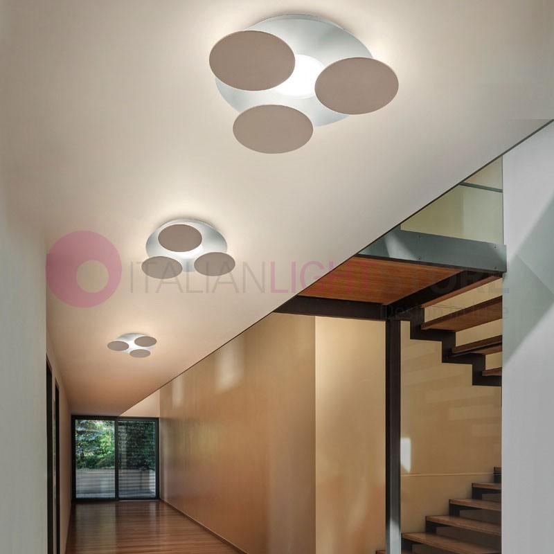 NUVOLA Plafoniera da Parete e Soffitto a Led D.35 Design Moderno