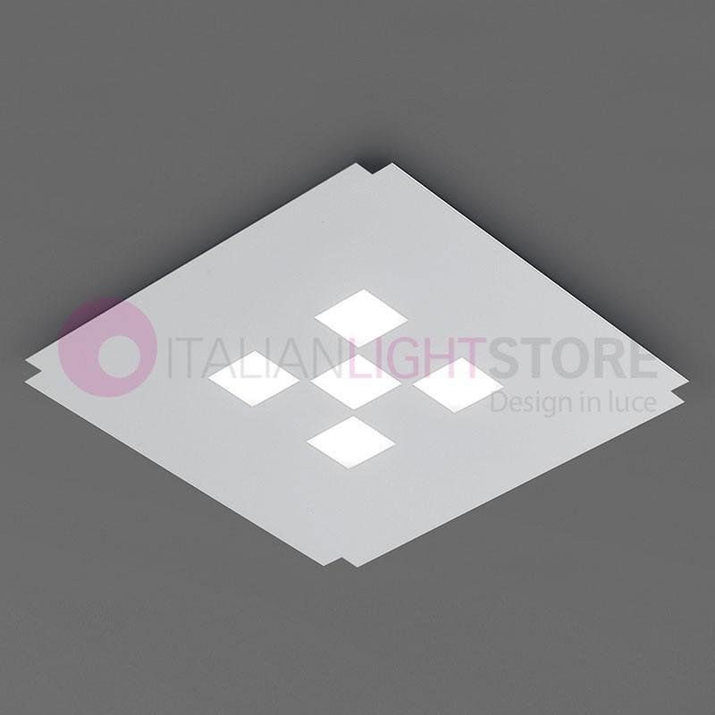 CORNER Plafoniera da Soffitto a Led L.38 Design Moderno